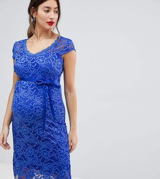 Mama Licious Mama.licious Mamalicious Lace Pencil Dress