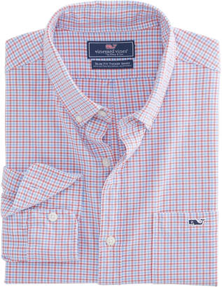 Vineyard Vines Belle Haven Plaid Slim Tucker Shirt