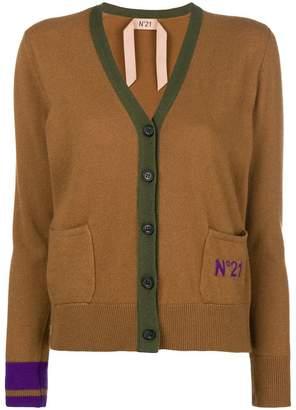 No.21 V-neck button cardigan