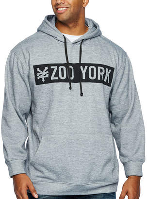 Zoo York Long Sleeve Fleece Logo Hoodie-Big and Tall