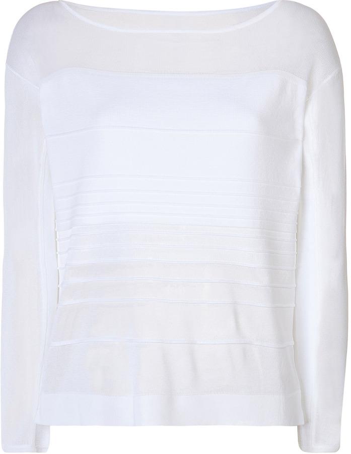 Helmut Lang Linear Pullover