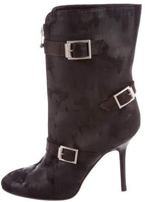 Jimmy Choo Aggy Waxed Suede Boots