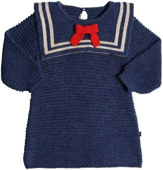Oeuf Sailor Baby Alpaca Knit Dress