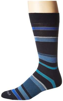 Etro Striped Socks Men's Crew Cut Socks Shoes