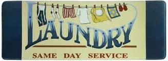 "Bacova Same Day Service Laundry Memory Foam Rug Runner - 55"" x 20"""