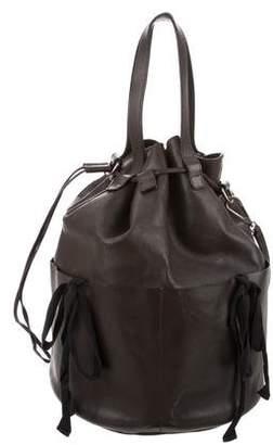 Marni Leather Convertible Satchel