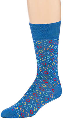 HS by Happy Socks 1 Pair Mens Crew Socks - Extended Size