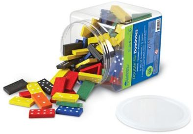 Learning Resources® 168-Piece Double-Six Dominoes
