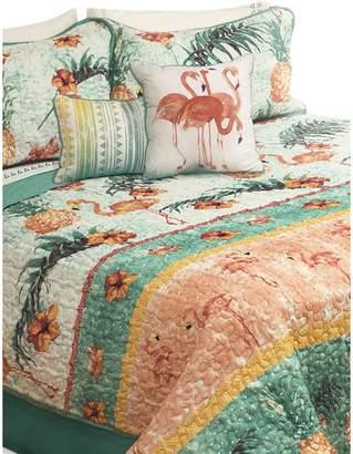 Safdie & Co. Maui 300-Thread Count 5-Piece Quilt Set