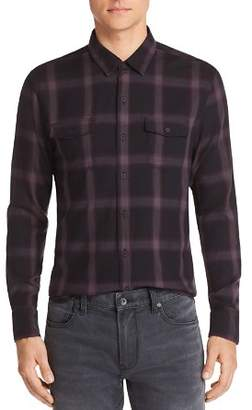 Paige Everett Plaid Regular Fit Shirt
