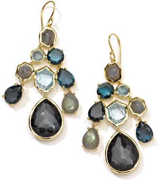 Ippolita 18k Rock Candy® Gelato Cascade Earrings in Oceano