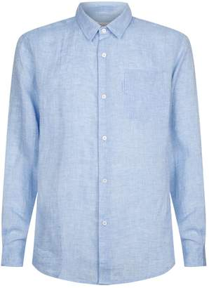 Derek Rose Linen Shirt with Pocket