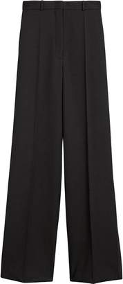 Burberry High-waisted Wool Trousers