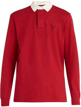 Polo Ralph Lauren Logo-embroidered cotton rugby shirt