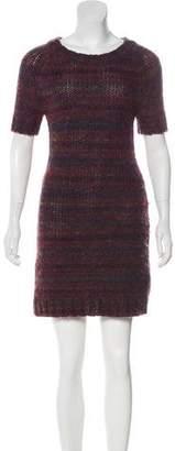 Rachel Zoe Wool-Blend Mini Dress