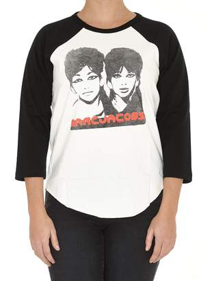 Marc Jacobs Graphic Raglan Tshirt
