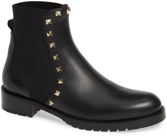 Valentino Beatle Rockstud Boot