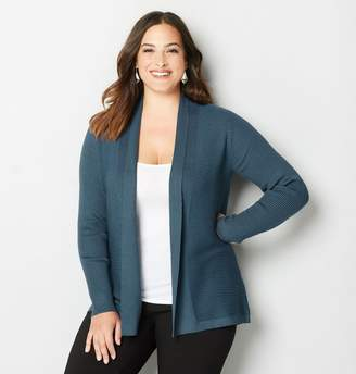 Avenue Ribbed Cardigan