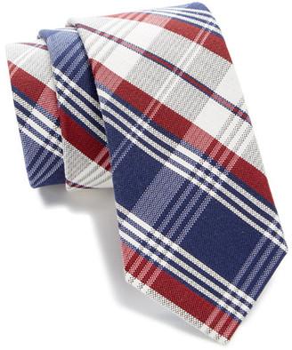 Tommy Hilfiger Silk Big Plaid Tie $65 thestylecure.com