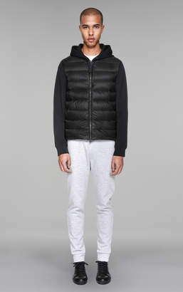 Mackage ROMAN Hooded lightweight lustrous down jacket with pocket