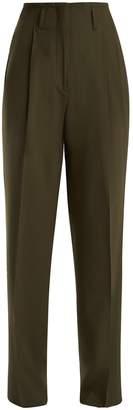 Etro Jade wide-leg wool-blend trousers