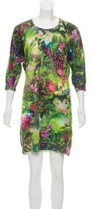 Paul Smith Linen Printed Dress