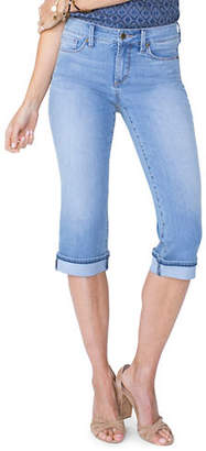 NYDJ Petite Marilyn Straight Cool Embrace Crop Jeans