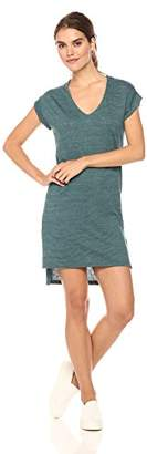 Alternative Women's Eco Jersey Yarn Dye Stripe Escapade Dress