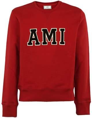 Ami Alexandre Mattiussi Ami Logo Patch Sweatshirt