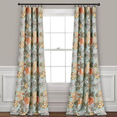Sydney Room Darkening Window Curtain Panels 52