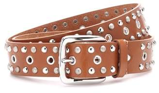 Isabel Marant Rica embellished leather belt