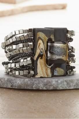 Soft Surroundings Marbelized Buckle Bracelet