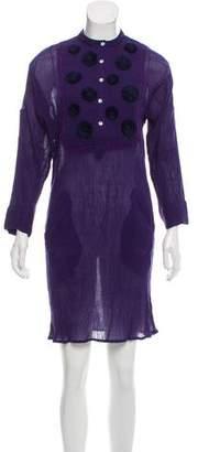 Banjanan Belinda Plissé Dress