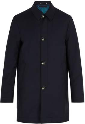 Paul Smith Detachable-lining wool-blend coat
