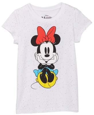 Jerry Leigh Minnie Mouse Short Sleeve Tee (Little Girls & Big Girls)
