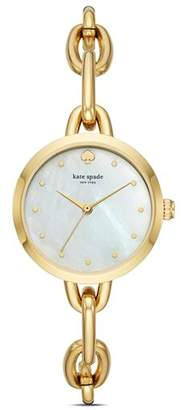 Kate Spade Metro Chain Watch, 30mm