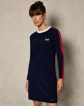 Ted Baker PALIT Striped sporty dress
