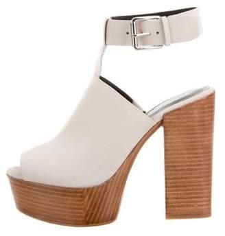 Rebecca Minkoff Suede Platform Sandals