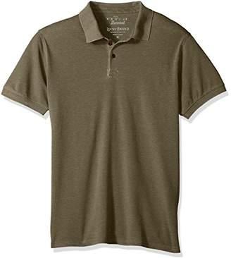 Lucky Brand Men's Burnout Pique Polo Shirt