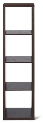 "Threshold 4-Cube Vertical Organizer Shelf 13"" $49.99 thestylecure.com"