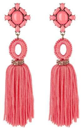 BaubleBar Sohvi Tassel Berry rop Earrings