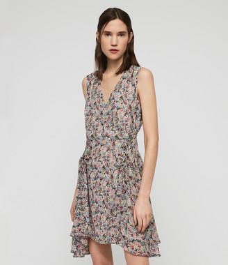 AllSaints Miller Sketch Dress