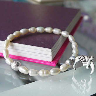 Amanda Jane's 'Why Should The Cows Have All The Fun!' Pearl Bracelet