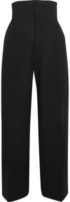 Jacquemus - Wool Tapered Pants - Black $650 thestylecure.com