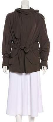 Akris Hooded Short Coat