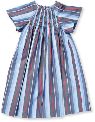 Elephantito Stripe Smocked Tunic Dress