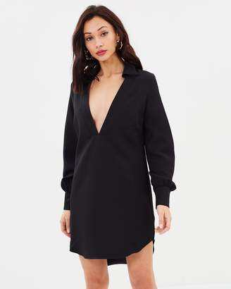 Missguided Peace + Love Loose Fit Dress