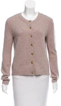 Inhabit Textured Wool-Blend Cardigan