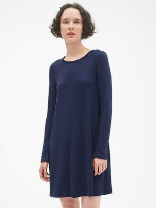 Gap Softspun Long Sleeve T-Shirt Dress