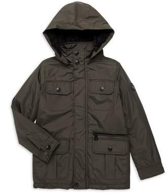 Urban Republic Little Boy's & Boy's Faux Fur-Lined Hooded Jacket